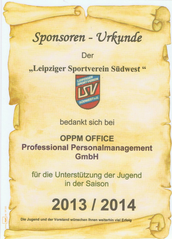 Leipziger Sportverein Südwest erhält neue Fußbälle!