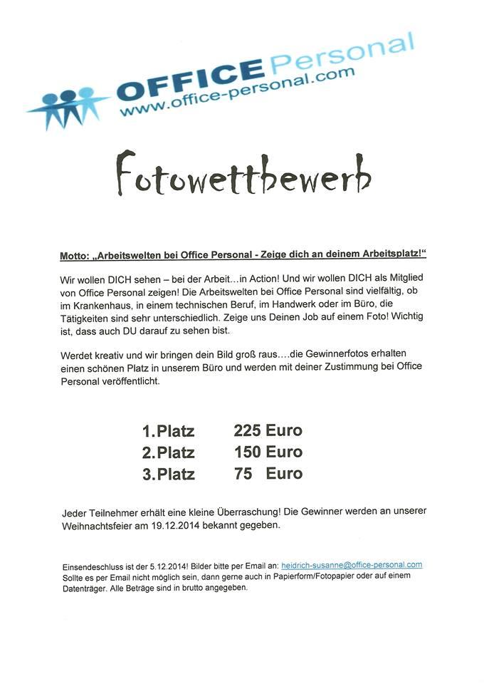 Fotowettbewerb in Augsburg!