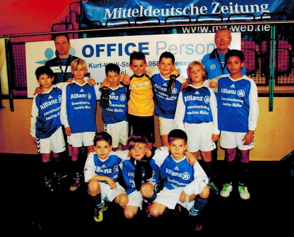 Die Kleinen von SV Germania 08 Rosslau