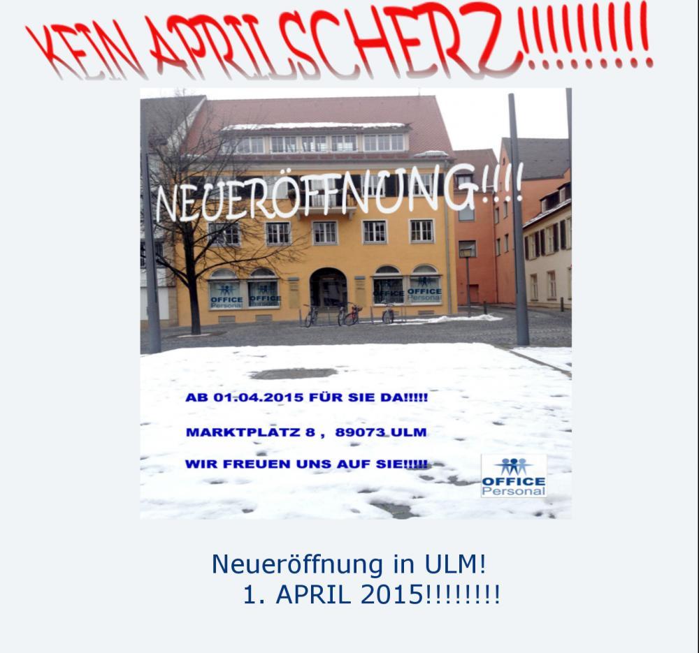 NEUERÖFFNUNG IN ULM!!!!