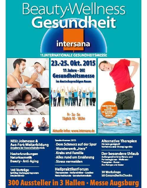 Intersana Messe 23.10.2015