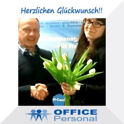 Herzlichen Glückwunsch! Zeitarbeit Frankfurt