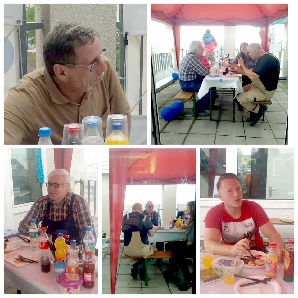 Grillabend in Dessau mit allen Mitarbeitern