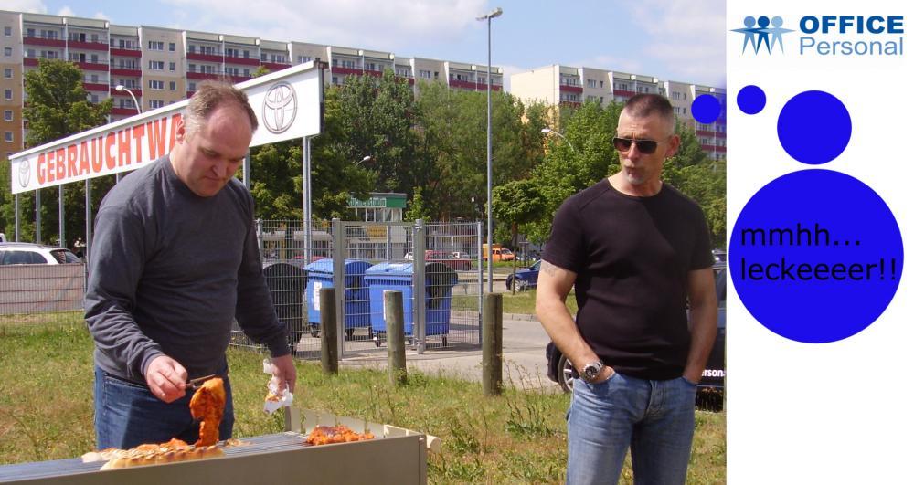 Berlin am Grill - Zeitarbeit ganz lecker!