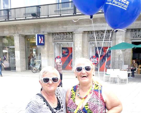 Augsburger Promoaktion am 01.07.2016