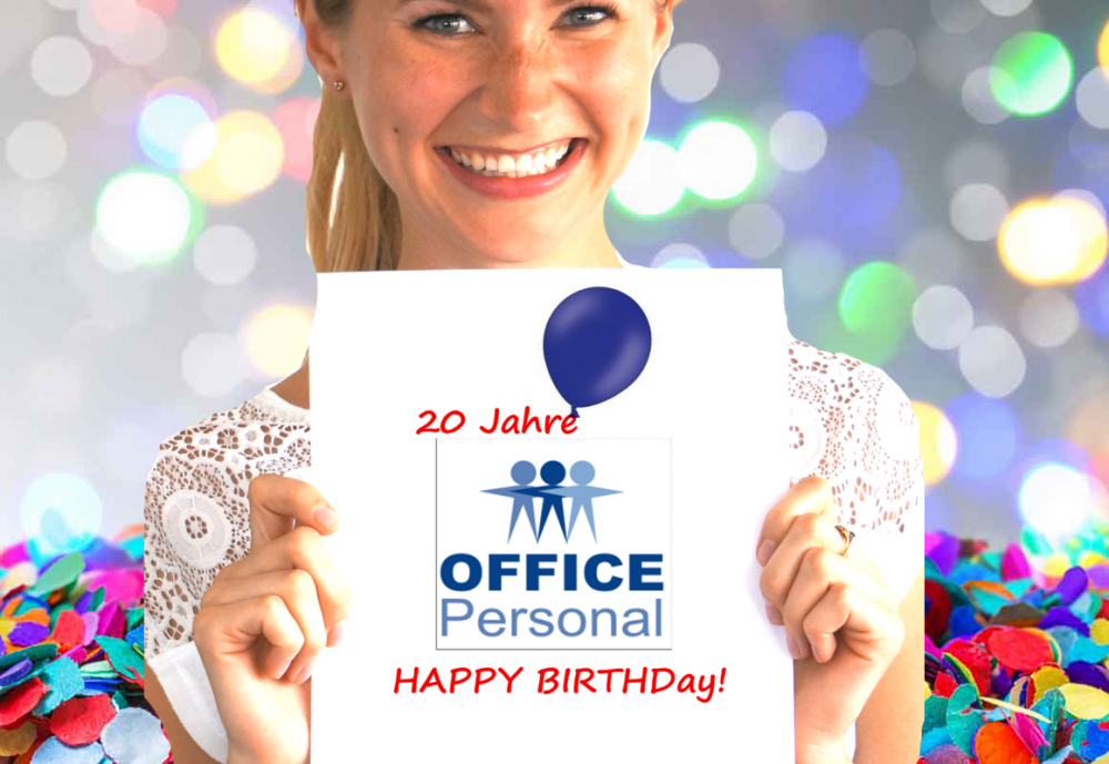 20 Jahre OFFICE Personal!