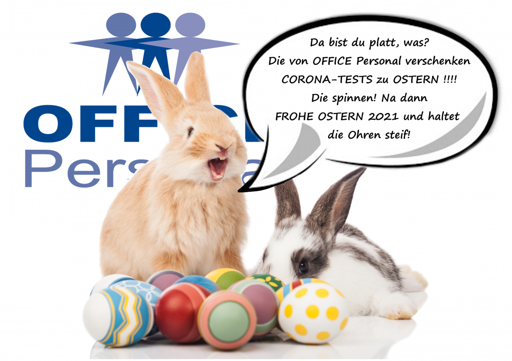 OFFICE Personal wünscht Allen ein schönes Osterfest!